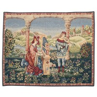 Medieval Music Tapestry