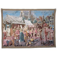 Ghent Marketplace - The Merchants Tapestry