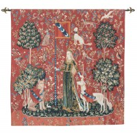 Lady with the Unicorn - Touch Tapestry