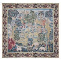 The Enchanted Park Tapestry
