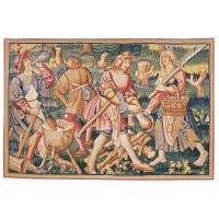 Medieval Woodcutters Tapestry