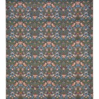 Strawberry Thief - Blue Tapestry Fabric