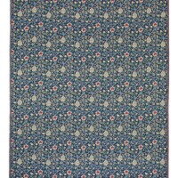 Evenlode Flowers - Blue Tapestry Fabric