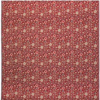 Evenlode Flowers - Red Tapestry Fabric