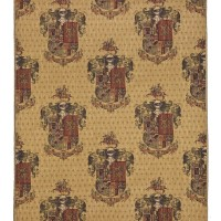 Armorial Knight's Shield Tapestry Fabric