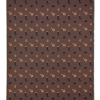Equestrian - Brown Tapestry Fabric