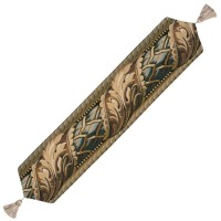 Acanthus Leaf Autumn Tapestry Table Runner