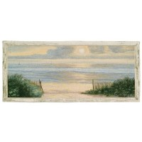 Evening Breakers Woven Art Tapestry