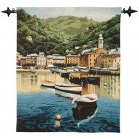 The Harbour Woven Art Tapestry