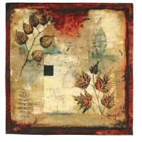 Autumn Abstract I Woven Art Tapestry
