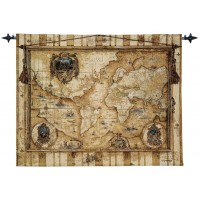 Old World Woven Art Tapestry