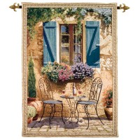 High Noon Woven Art Tapestry