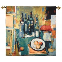 Abstract Vintage Woven Art Tapestry