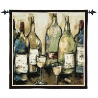 Contemporary White Woven Art Tapestry