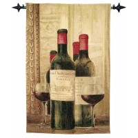 Chateau Vintage Woven Art Tapestry