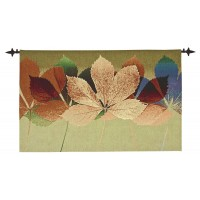 Autumn Leaves Woven Art Tapestry