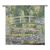 Giverny Bridge Woven Art Tapestry