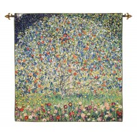 The Apple Tree Woven Art Tapestry