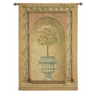 Fruit Topiary Woven Art Tapestry