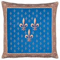 Royal Fleur de Lys Pillow Cover