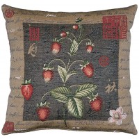 Strawberries Pillow Cover