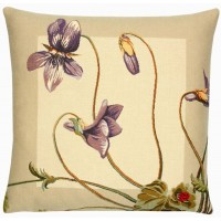 Violets Pillow Cover