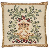 Imperial Crown Pillow Cover
