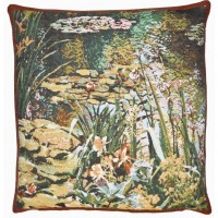 Lake Giverny II Pillow Cover
