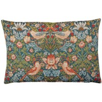 Strawberry Thief Pillow Cover