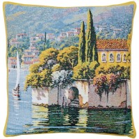 Lakeside Villa Pillow Cover
