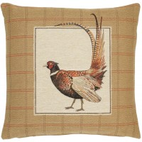 Fantail Pheasant - Right Pillow Cover