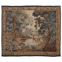 Verdure aux Canards Antique Original Tapestry