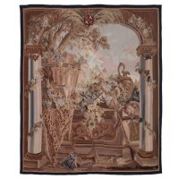 Renaissance Vintage Handwoven Tapestry