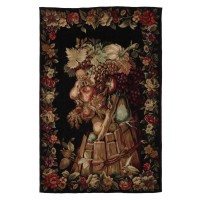 Wooded Vines Handwoven Tapestry