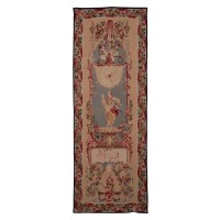 Elaborate Stage Left Handwoven Tapestry
