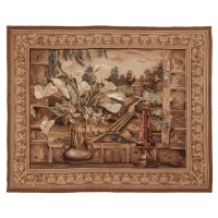 Cottage View Handwoven Tapestry
