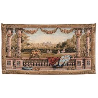 Château Bellevue Panoramique Tapestry