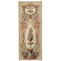 Floral Portière Tapestry