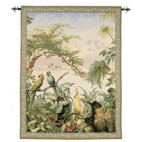 Exotic Birds Tapestry