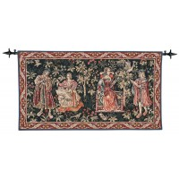 Medieval Pastimes Tapestry