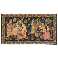Medieval Grape-Pickers Tapestry