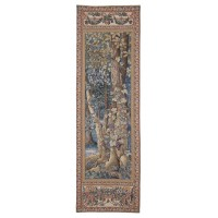Wild Vine Portiere with Frieze Tapestry