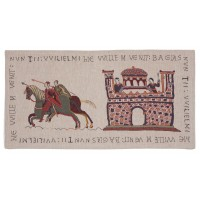 Bayeux Knights & Castle Tapestry