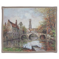 Bruge Lake of Love Tapestry