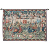 The Tournament at Camelot Tapestry