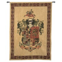 A Knight's Coat of Arms Tapestry