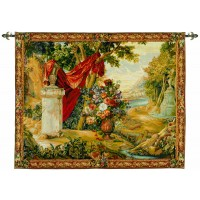 Landscape with Drape Tapestry