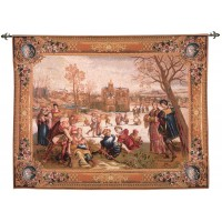Les Patineurs Tapestry