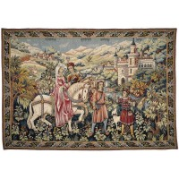 La Promenade (The Outing) Tapestry