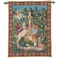 Medieval Fountain Tapestry